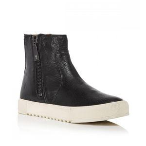 Frye Gia Lug Zip Bootie Sneaker
